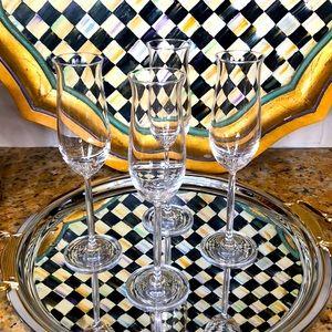 Schott Zweisler Crystal Champagne Flutes Glasses
